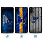 St. Louis Blues Case For iPhone X Xs Max Xr 8 7 Plus Galaxy S9 S8 S7 $3.99 USD on eBay