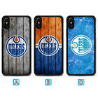 Edmonton Oilers Case For iPhone X Xs Max Xr 8 7 Plus Galaxy S9 S8 S7 $3.99 USD on eBay