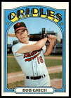 1972 Topps Baseball # 272 - 516  -- Pick Your Card - Each Scanned Front & Back
