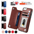 Magnetic Leather Wallet Case Card Slot Shockproof Flip Cover for iPhone 6/7/8/X