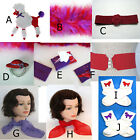 Red Hat Society Accessories Purple-Red Boa, Purse Tissue Pack, Pin, Poodle Patch