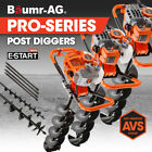Baumr-AG Post Hole Digger Auger Petrol Drill Borer Fence Earth Power 86 75 62