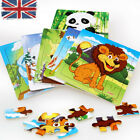 UK 20Pcs Wooden Animal  PuzzleToys  Early Learning Baby Kids Educational Toys