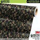 MINI MILITANT GREEN Camouflage Vinyl Vehicle Car Wrap Camo Film Sheet Roll