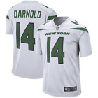 Mens New York Jets Sam Darnold 14 White Player Game Jersey 2019