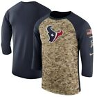 New Houston Texans NFL Football Nike Salute To Service shirt choose Men's sizing