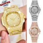 Watch Iced Out Silver Gold Icy Ice Bling Shine Shiny Jewel Diamond Rhinestone image