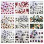 Nail Stickers Water Decals Transfers Animal  Dreamcatchers Feathers Flower