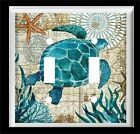 SEA TURTLE STARFISH LIGHT SWITCH COVER PLATE OR OUTLET