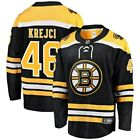 Fanatics Branded David Krejci Boston Bruins Youth Black Breakaway Player Jersey