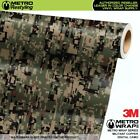 DIGITAL MILITANT COPPER Camouflage Vinyl Vehicle Car Wrap Camo Film Sheet Roll