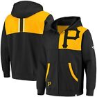 Fanatics Branded Pittsburgh Pirates Black/Gold Iconic Bold Full-Zip Hoodie on Ebay