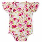 Goodstoworld Baby Girls Boys Ruffle Romper Short Sleeve Cute Jumpsuit 0-24 Month