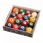 "SPOTS & STRIPES 1 1/2"" (3.81cm) POOL BALLS £16.33 GBP on eBay"