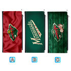Minnesota Wild Leather Wallet Purse Thin Card Holder Handbag $12.99 USD on eBay