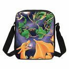 Pokemon Mega Charizard Backpack Insulated Lunch Box Pencil Case Shoulder Bag Lot