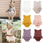 Kyпить New Summer Newborn Kid Baby Girl Clothes Sleeveless Romper Tutu Dress 1PC Outfit на еВаy.соm
