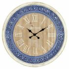 Aspire Home Accents Manderly Country Cottage 29.5 in. Wall Clock