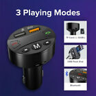 Wireless Bluetooth Car FM Transmitter Dual USB Car Charger Audio MP3 Player Kit