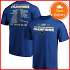 Men's St. Louis Blues 2019 T-Shirt Western Conference Champions TShirt S-5XL $17.99 USD on eBay
