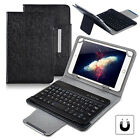 UK Black Universal Leather Case Keyboard For 7* 8* 9.7'' 10.1'' Android Tablets