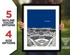 DODGER STADIUM Photo Picture LOS ANGELES DODGERS City Skyline Print 8x10 11x14 on Ebay