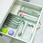 Durable Home  Drawer Storage Boxes Tray Utensil Cutlery Degradable Organiser HA