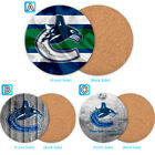Vancouver Canucks Wood Coaster Cup Drink Mat Pad Placemat Tea $3.49 USD on eBay