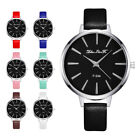 NEW Women Casual Watches Round Case Thin Band  Analog Quartz Watch Simple Gift