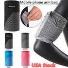 Armband Gym Belt Case Stretch Arm Band Sport Cell Phone Cover Run Holder Bag USA image