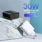 Baseus 30W Type C/2 USB Port Mobile Phone Fast Charge Wall Charger Fast Charger