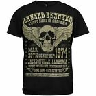 Lynyrd Skynyrd Alabama 1974 Music Rock Band Skull Wing Adult T Tee Shirt LS124
