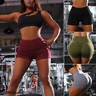 Womens Hot Pants Gym Yoga Shorts Dance Sports Bodycon Stretchy Workout Bottoms