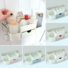 Multifunction Home  Wall Mounted Plastic Storage Rack Cosmetic Toiletries Holder