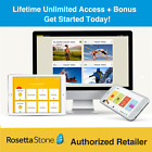 Rosetta Stone English Lifetime Subscription~Homeschool Upgrades+BONUS