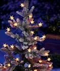 Pop-Ons Light Bulb Star Covers Country Americana Christmas Tree Decor 10- 35