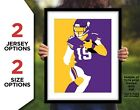 ADAM THIELEN Photo Picture MINNESOTA VIKINGS Football Poster Print 8x10 or 11x14 $12.95 USD on eBay