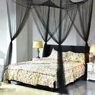 Goplus 4 Corner Post Bed Canopy Mosquito Net Full Queen King Size Netting image