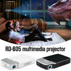 Projector 1080P Built-In Speakers HDMI Für Smartphone Laptop Empfänger Fittings