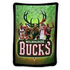 Milwaukee Bucks Squad Fleece Blanket on eBay