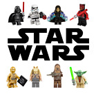 Star Wars Yoda Jedi Sith Darth Vader Marvel Super Heroes Building Blocks Toy DIY $1.75 USD on eBay