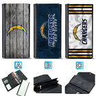 San Diego Chargers Leather Wallet Trifold Clutch Purse Coin Card Handbag $15.99 USD on eBay