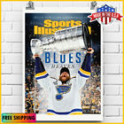 ST. LOUIS BLUES WIN 2019 STANLEY CUP COVER COMMEMORATIVE POSTER US FREE SHIP $23.99 USD on eBay