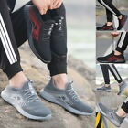 Men's Work Sneakers Casual Outdoor Lightweight Breathable Slip On Trainers Shoes