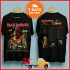 Iron Maiden T-Shirt Legacy Of The Beast Tour 2019 Black T Shirt Free Shipping image
