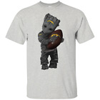 Baby Groot Hug San Diego Chargers Football NLF T-Shirt Black Navy Mens-Womens $21.95 USD on eBay