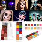 Used, Pro Face Body Paint Oil Painting Art Palettes Make Up Kit Sets Halloween Party for sale  San Leandro