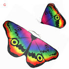 Kids Girls Festival Butterfly Wings Soft Shawl Cape Pixie Cloak Fancy Costumes