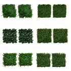 6x Artificial Plant Wall Grass Panels Boxwood Hedge Vertical Garden Fence Decor
