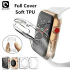 For Apple Watch Series 5 4 3 2 38/42mm 40/44mm iWatch Soft TPU Full Cover Case